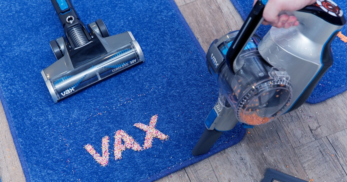 Vax pioneers the next generation of cordless vacuums